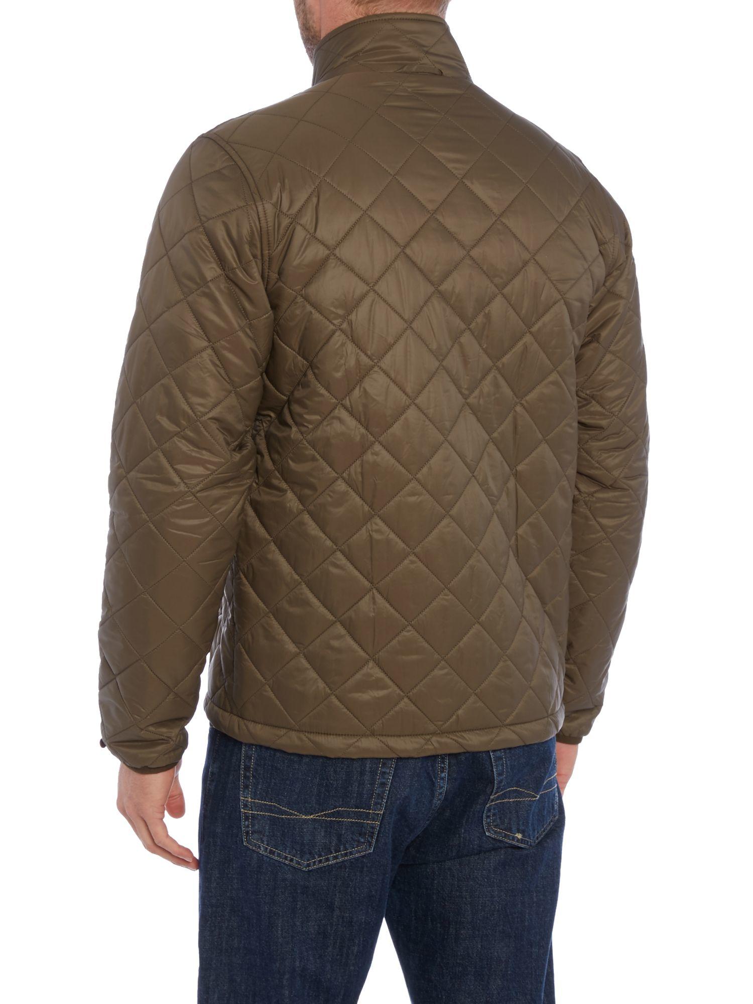 Barbour Kellen Quilted Jacket in Green for Men