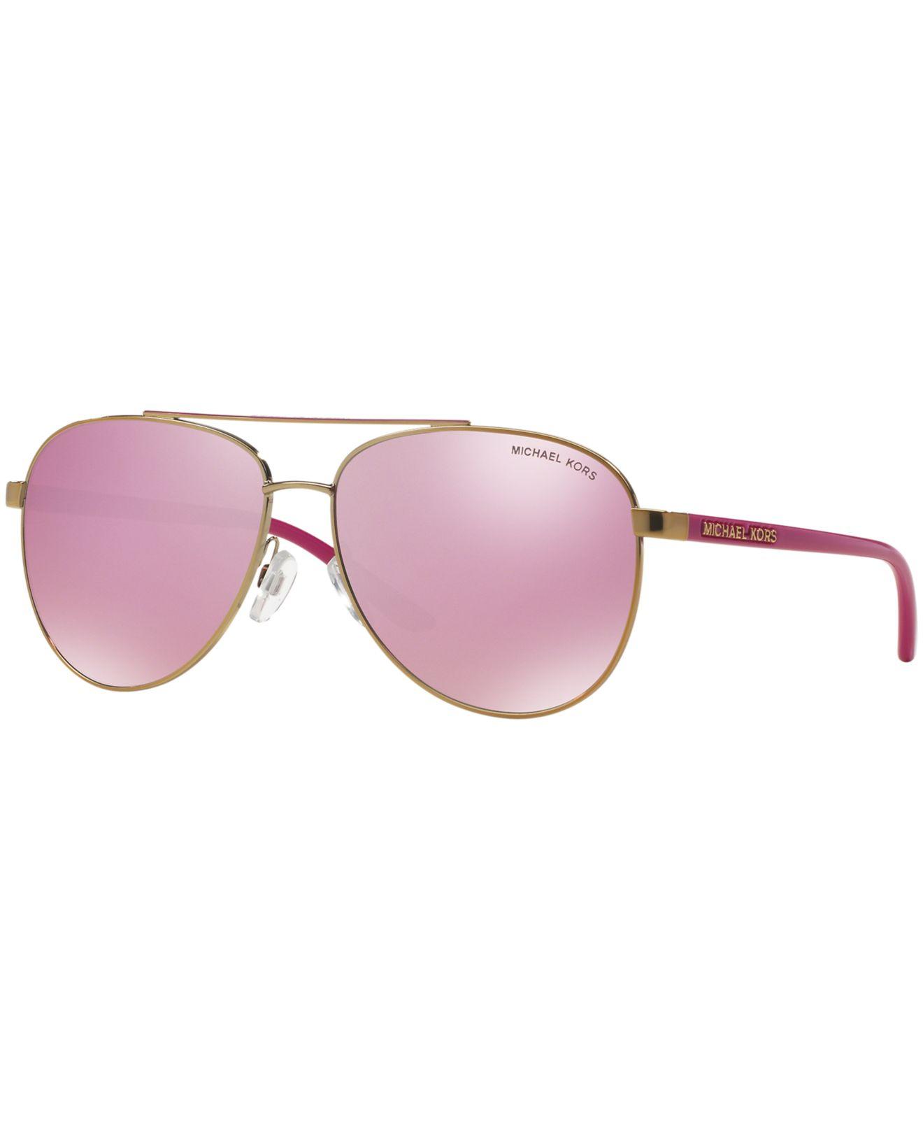 3bd83f06e893c6 Lyst - Michael Kors Mk5007 59 Hvar in Pink