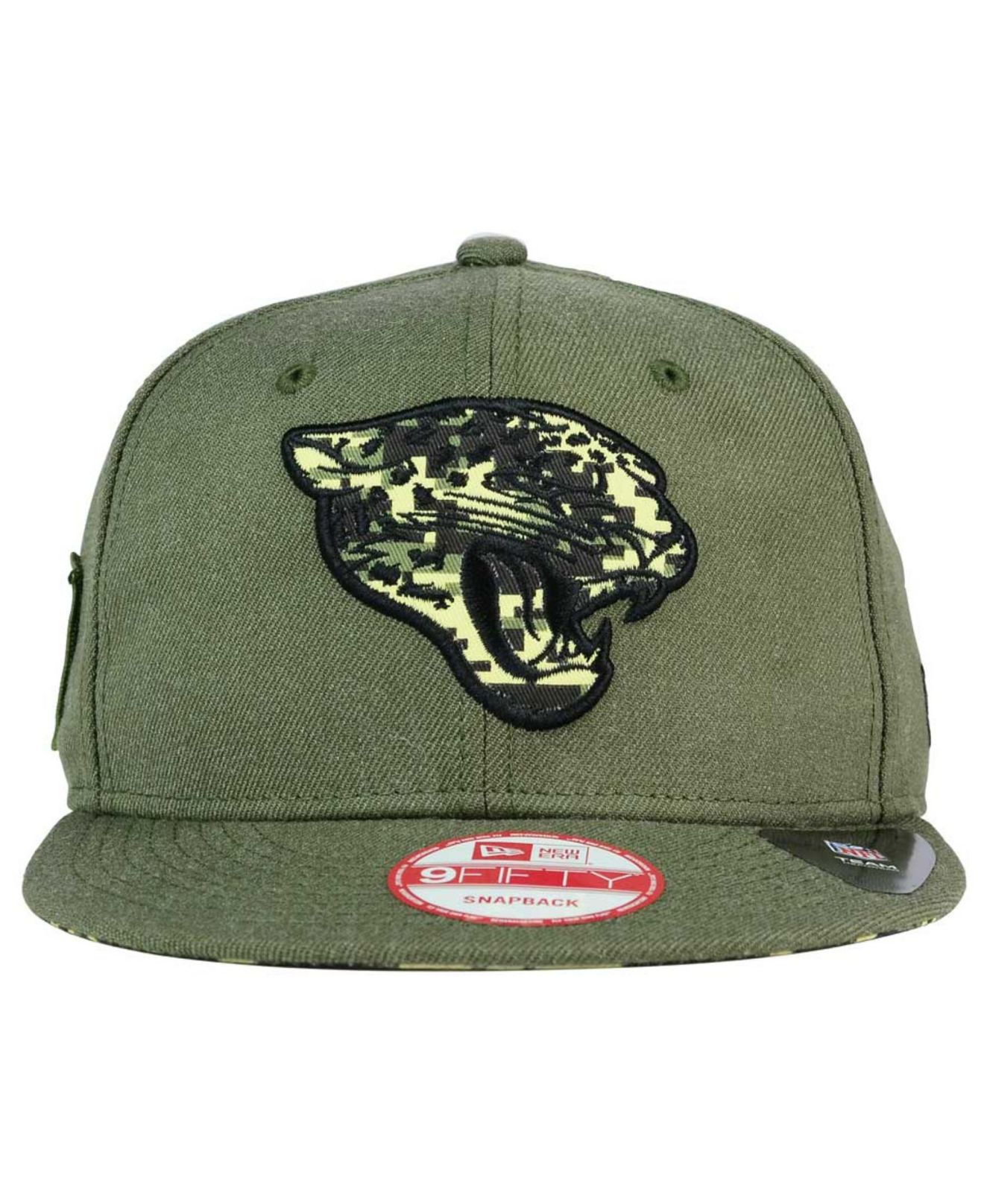 cheap for discount 8f108 2e763 KTZ Jacksonville Jaguars Sgt Patch 9fifty Snapback Cap in Green for ...