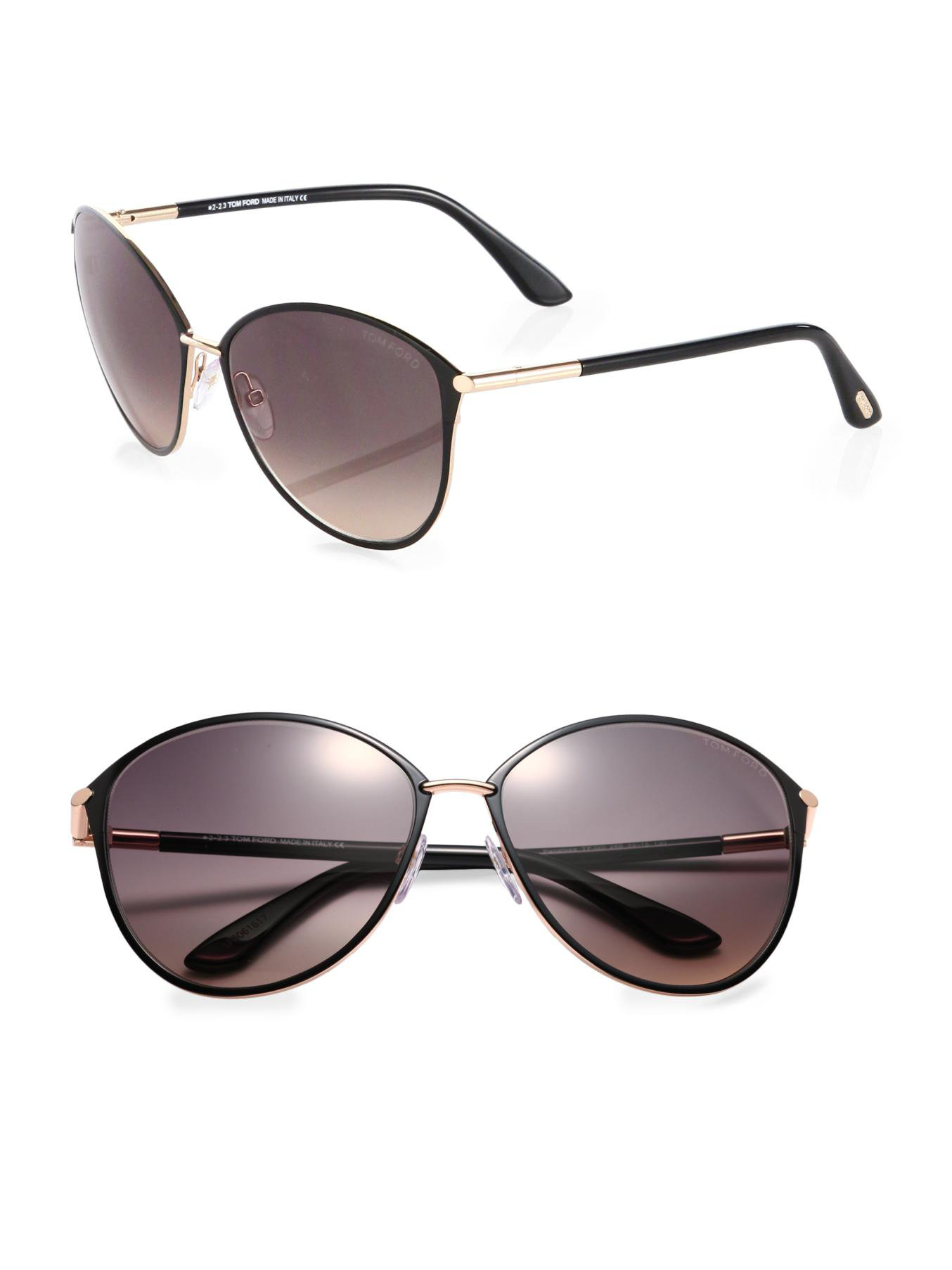 tom ford eyewear black penelope metal cats eye sunglasses product 0. Cars Review. Best American Auto & Cars Review