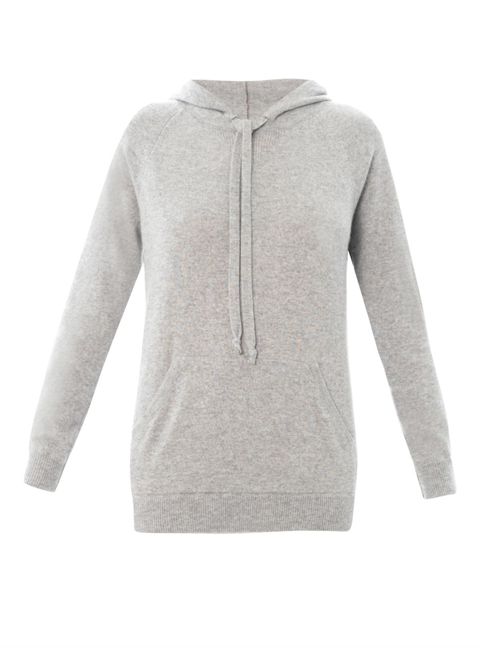 Queene and belle Surf Hooded Cashmere Sweater in Gray | Lyst