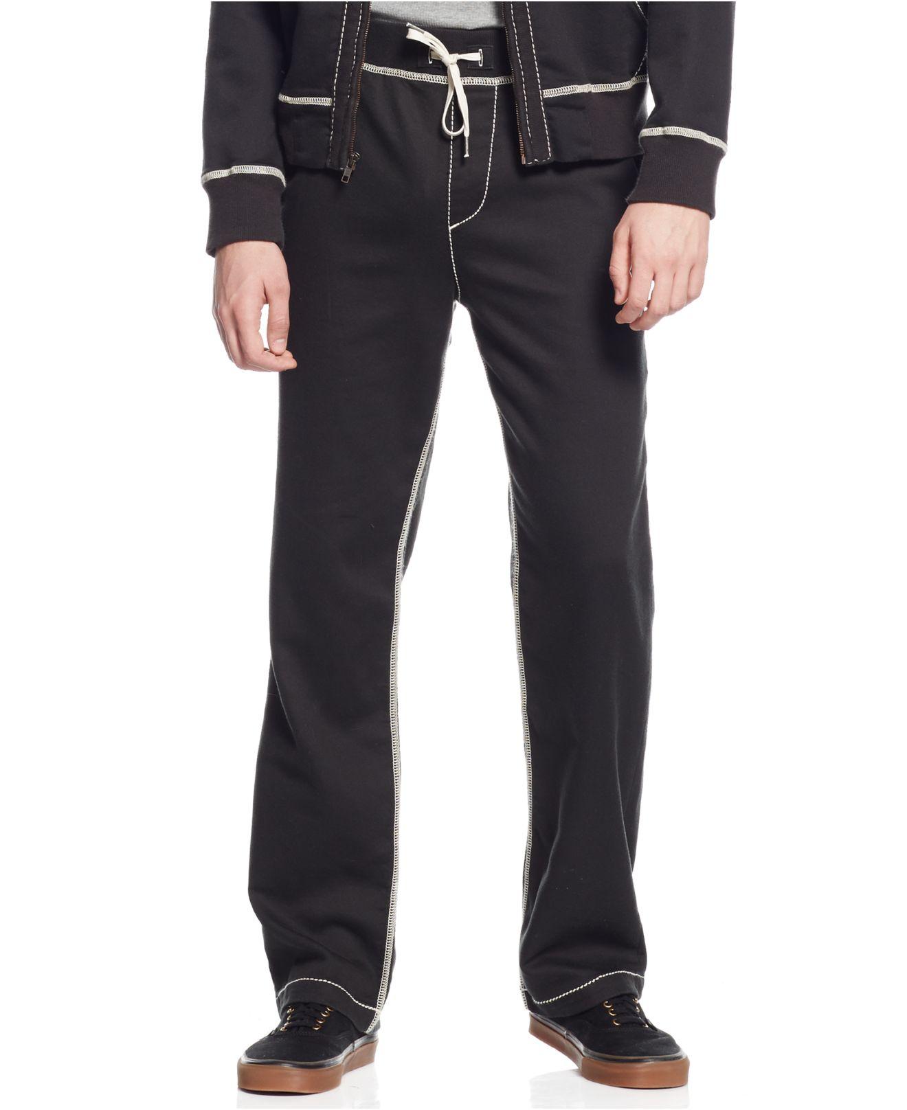 b536dddee True Religion Wide Leg Sweatpants in Black for Men - Lyst