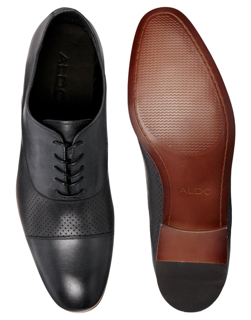 Oxford Men S Real Leather Shoes
