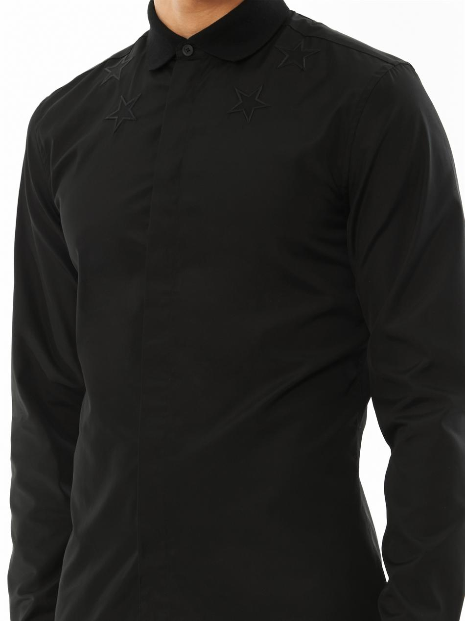 embroidered collar shirt - Black Givenchy Free Shipping Newest Clearance Visit 6GrY790j
