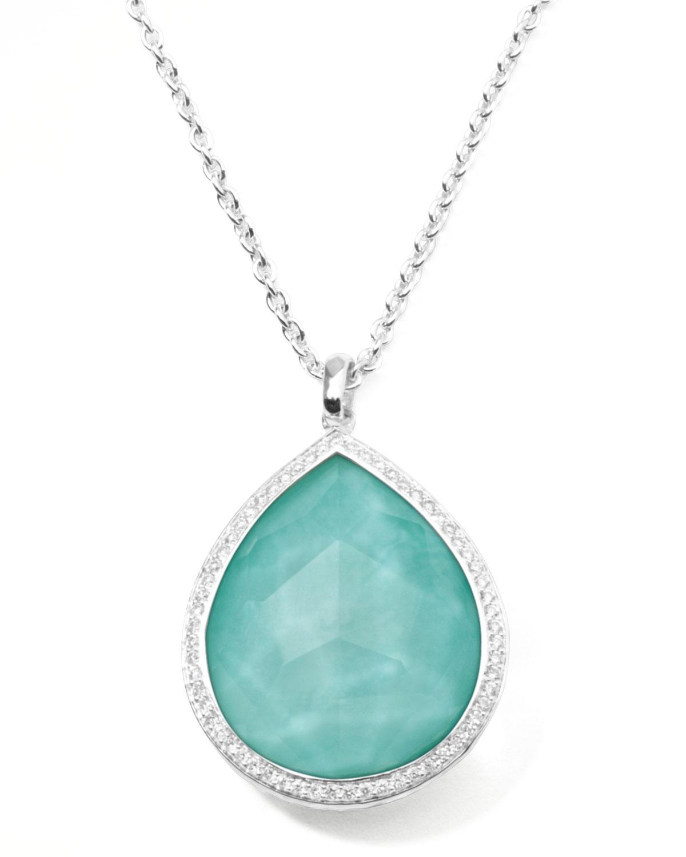 Ippolita Stella Large Teardrop Pendant Necklace In ...