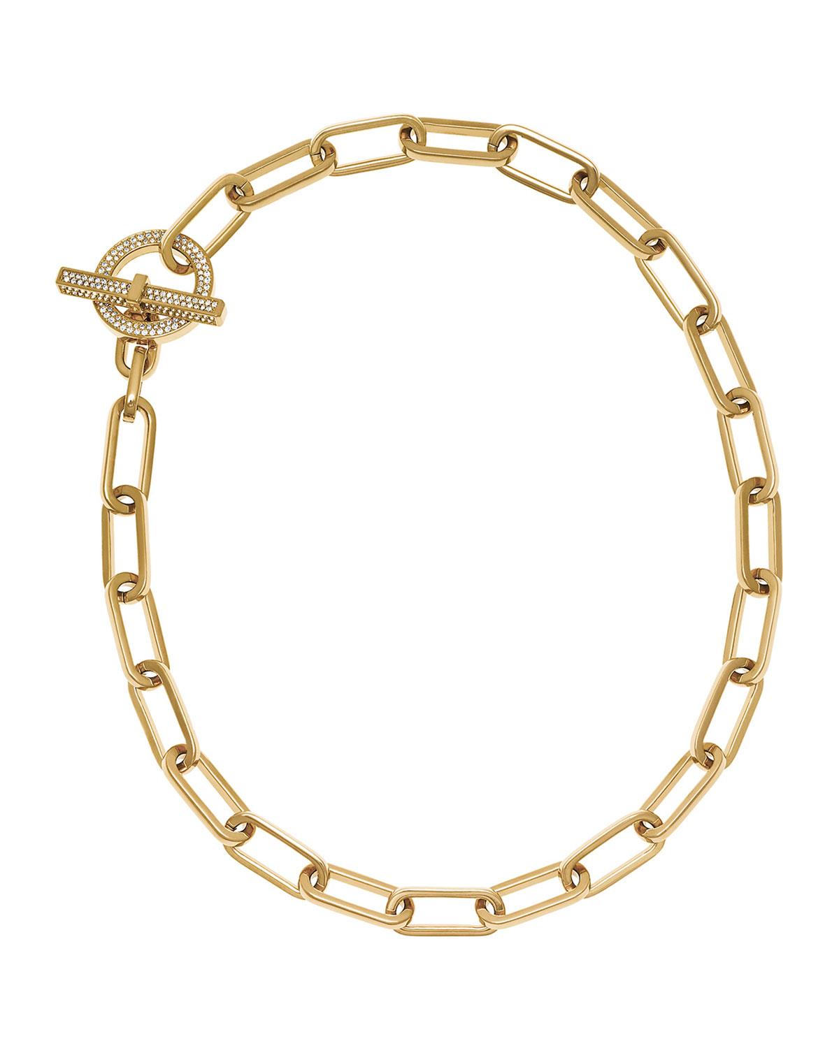 michael kors cityscape link toggle necklace in gold save
