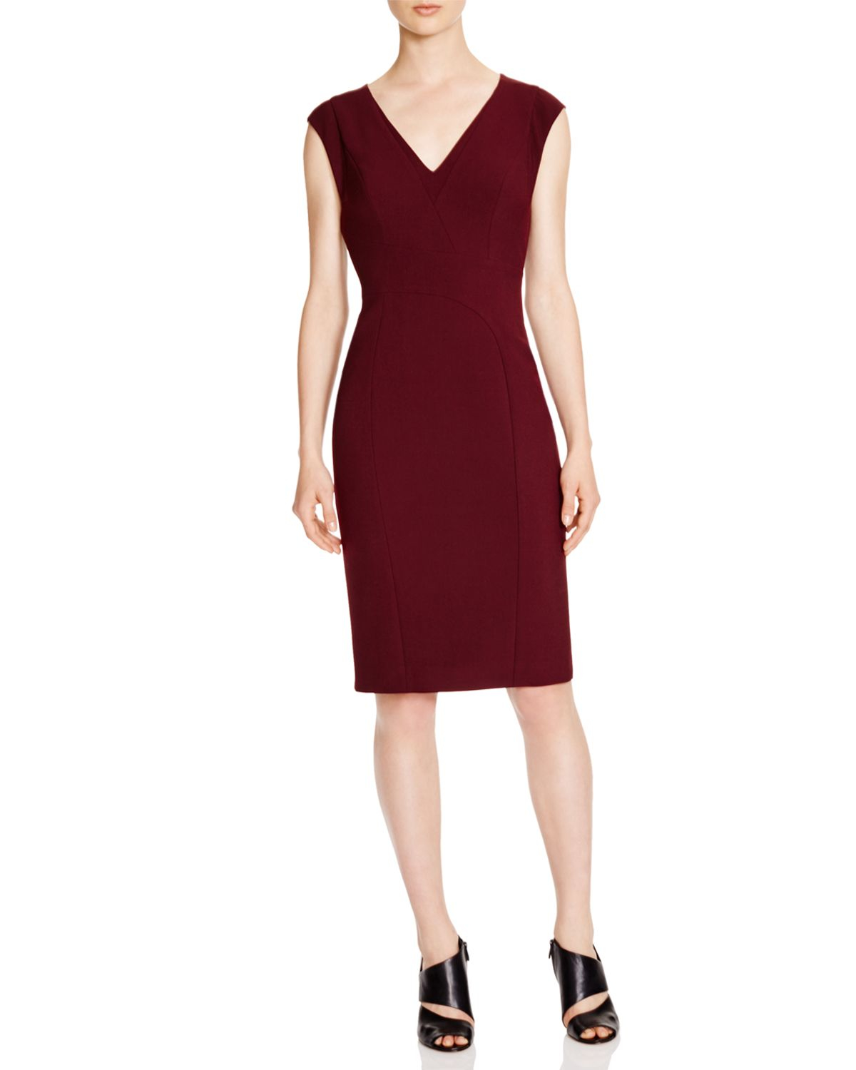 Lyst Karen Millen Tailored Pencil Dress 100