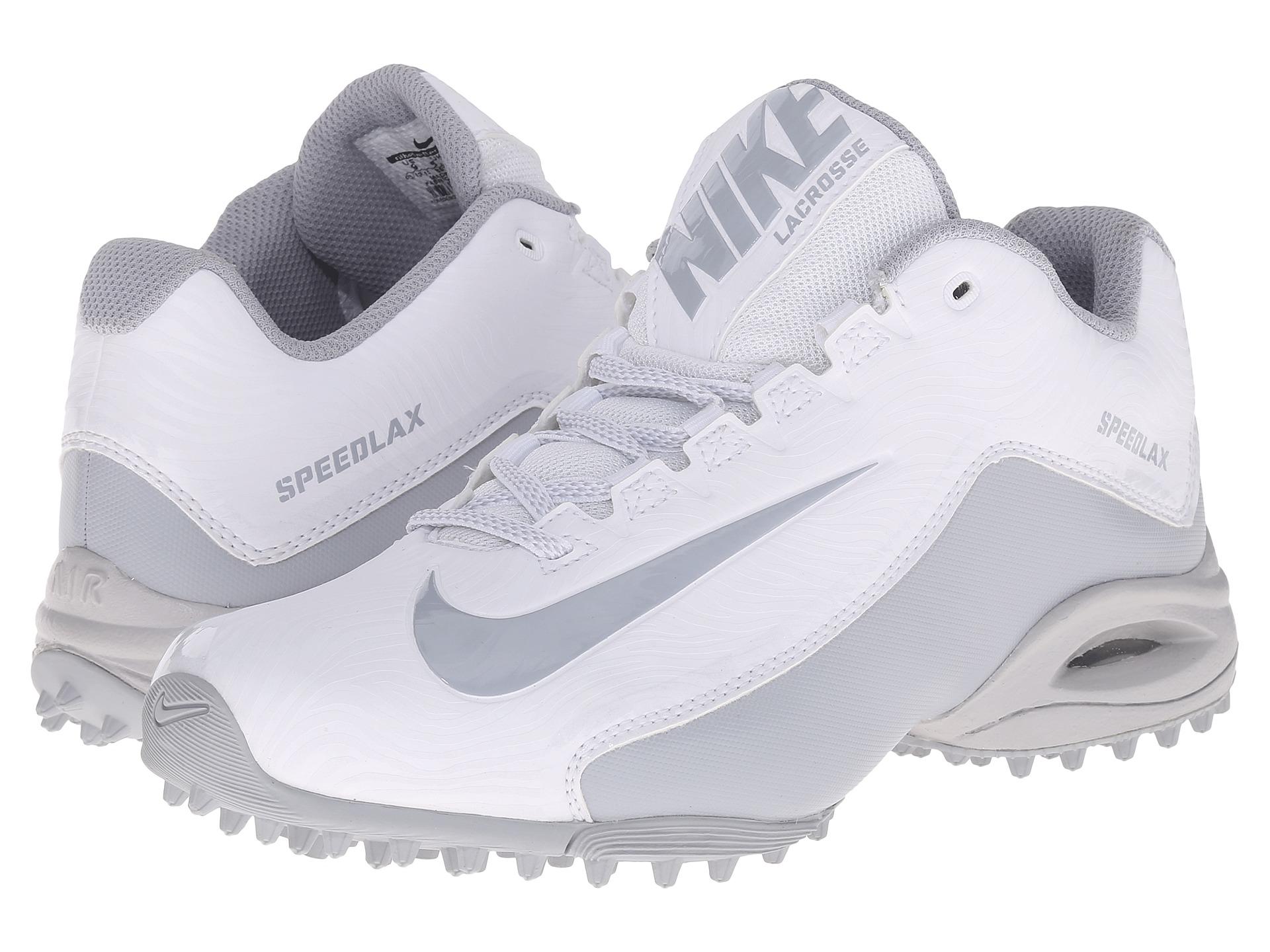 51a8eaf872f66 Nike Speedlax 5 Turf in White - Lyst