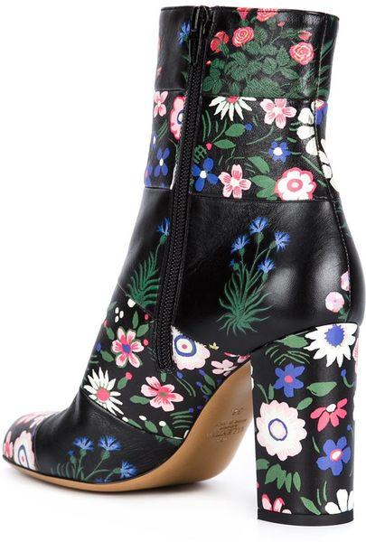 Valentino Boots In Multicolor Lyst