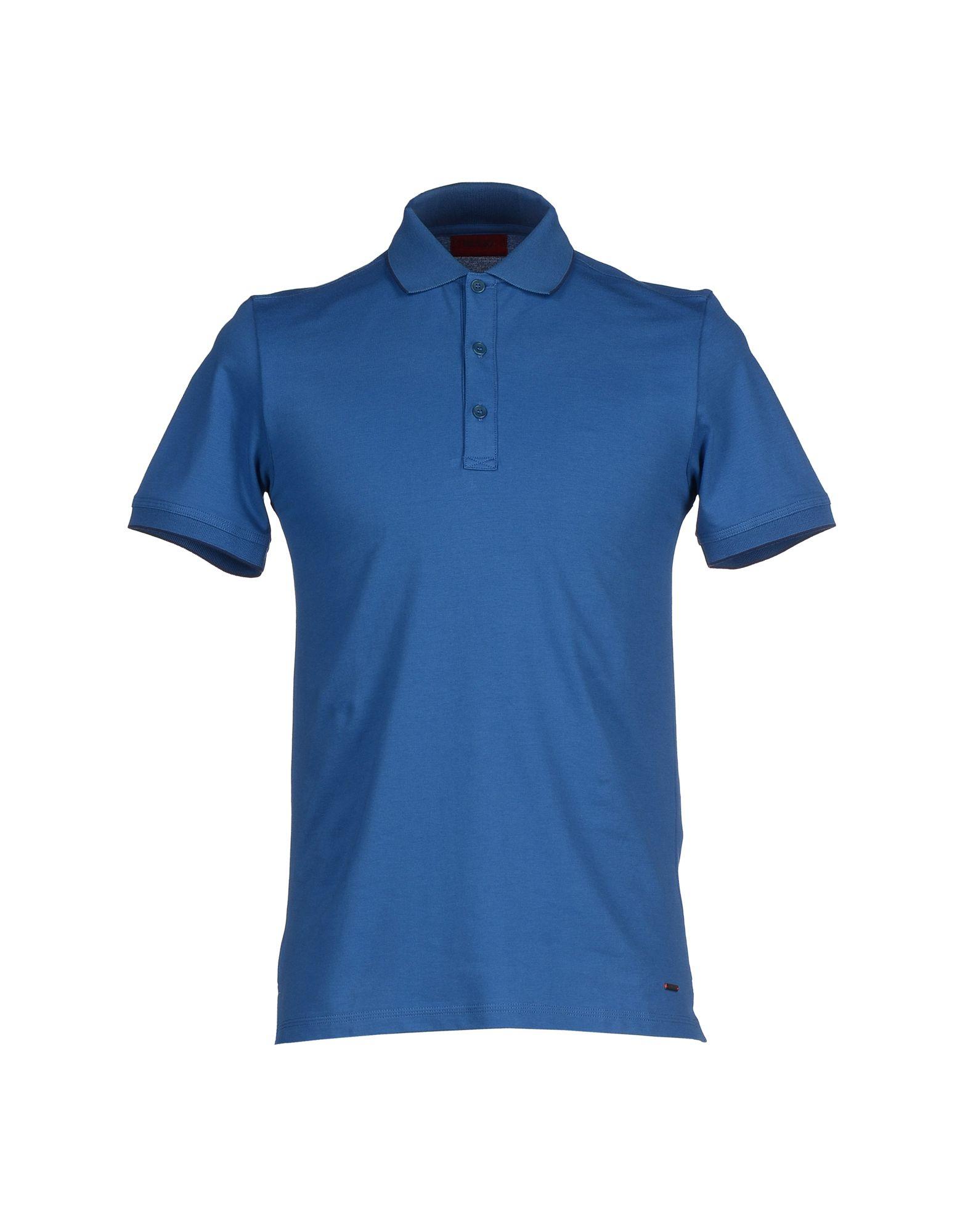Hugo Polo Shirt in Blue for Men (Pastel blue) | Lyst