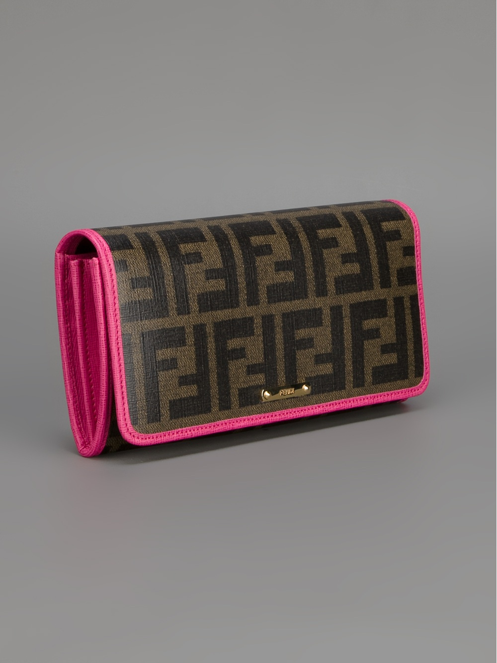 daff2a07d601 ... coupon for lyst fendi zucca wallet in brown b593c 6643f