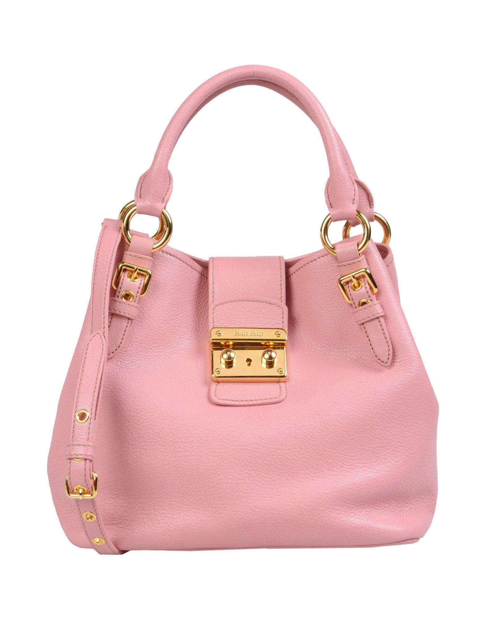 miu miu handbag in pink lyst. Black Bedroom Furniture Sets. Home Design Ideas