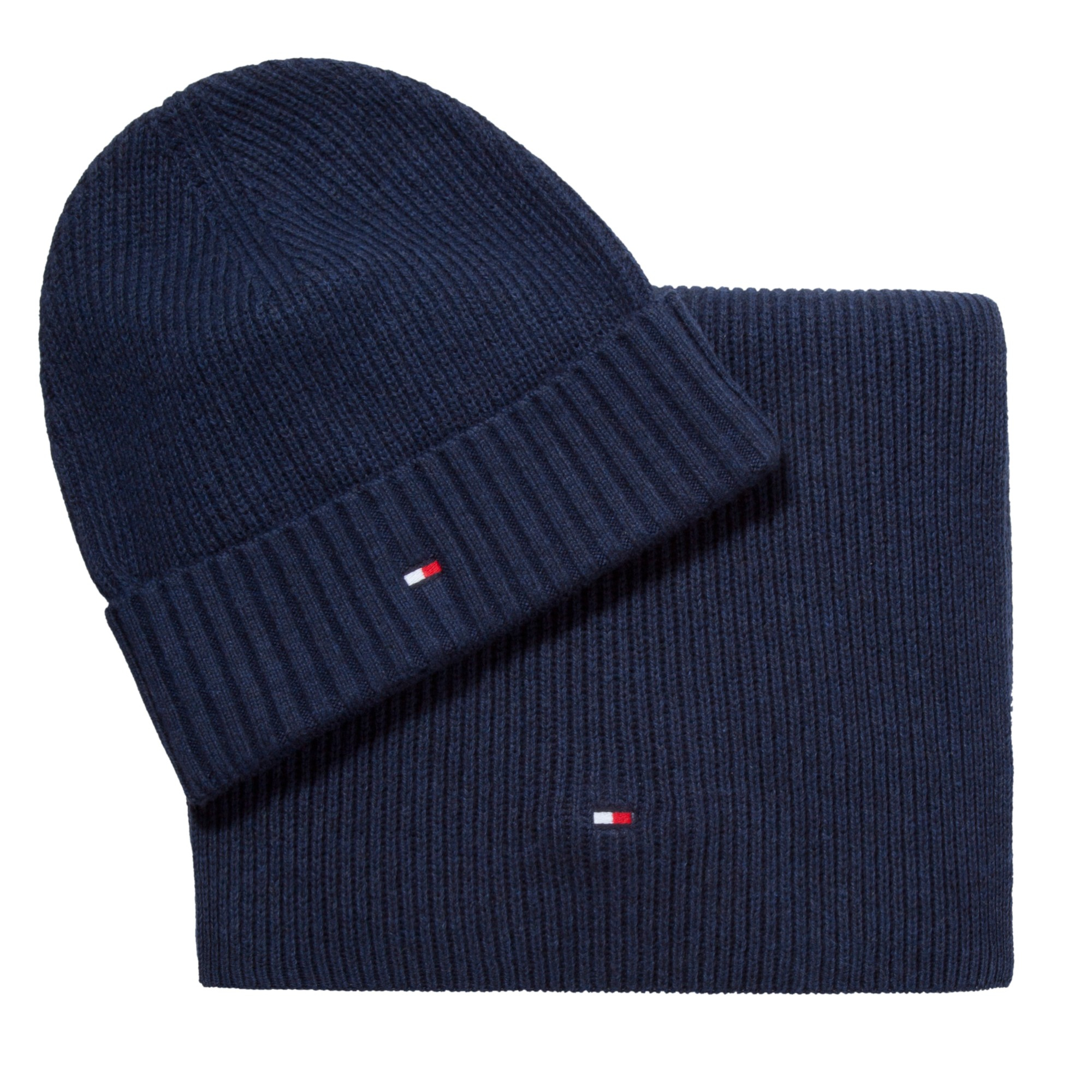 Tommy Hilfiger Hat And Scarf Set in Blue for Men - Lyst 7eb7799975c