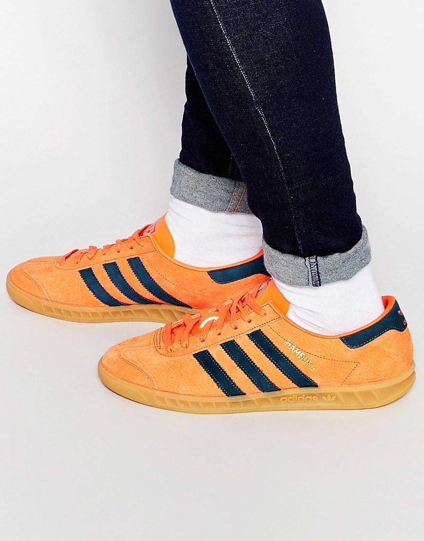 adidas hamburg orange