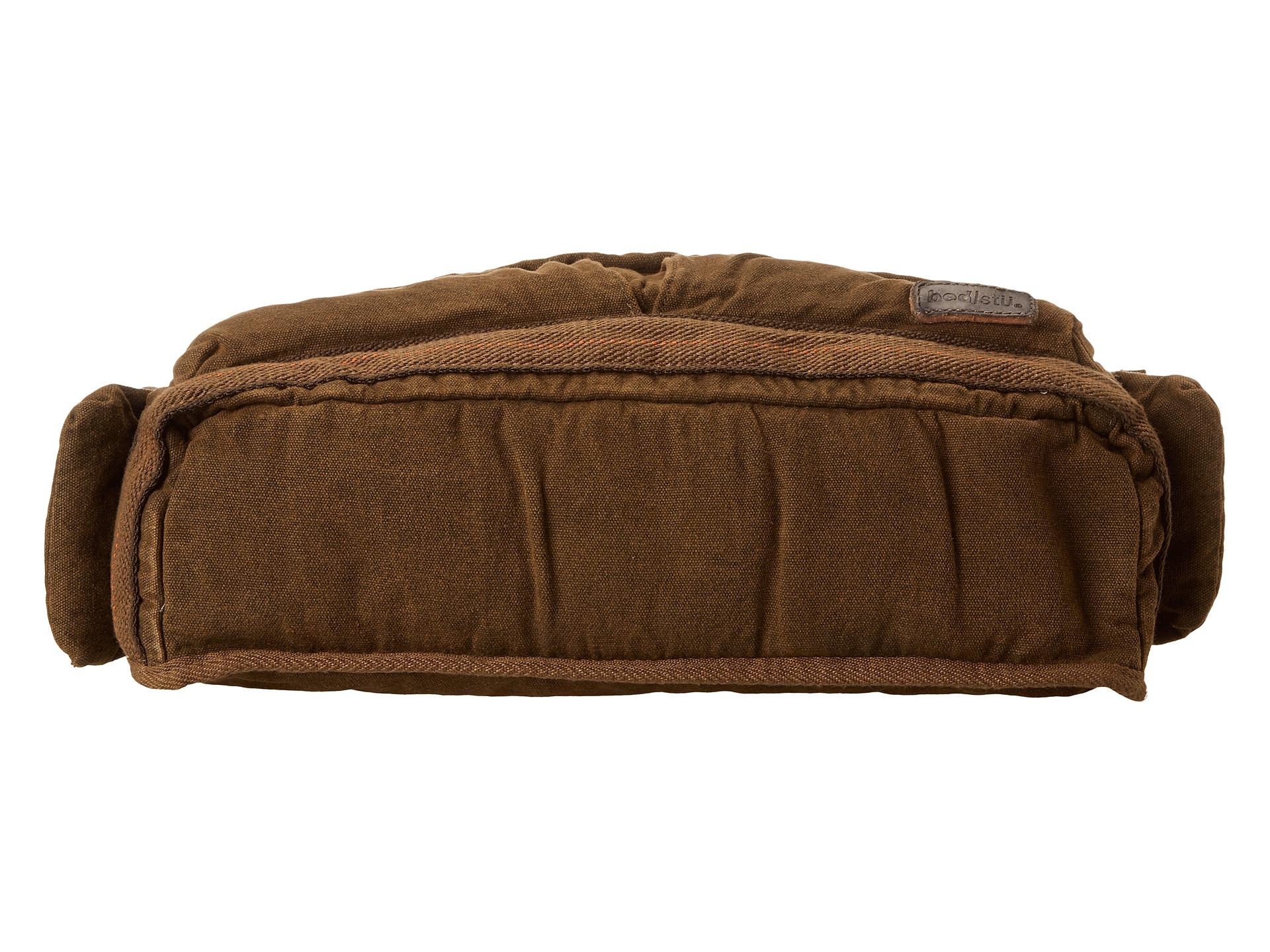bed stu brown hawkeye messenger bag for men lyst. Black Bedroom Furniture Sets. Home Design Ideas