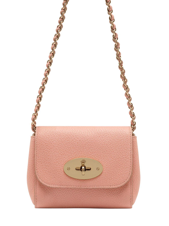 e8b31d836cdb ... australia mulberry mini lily shoulder bag in brown lyst 67e81 65f84