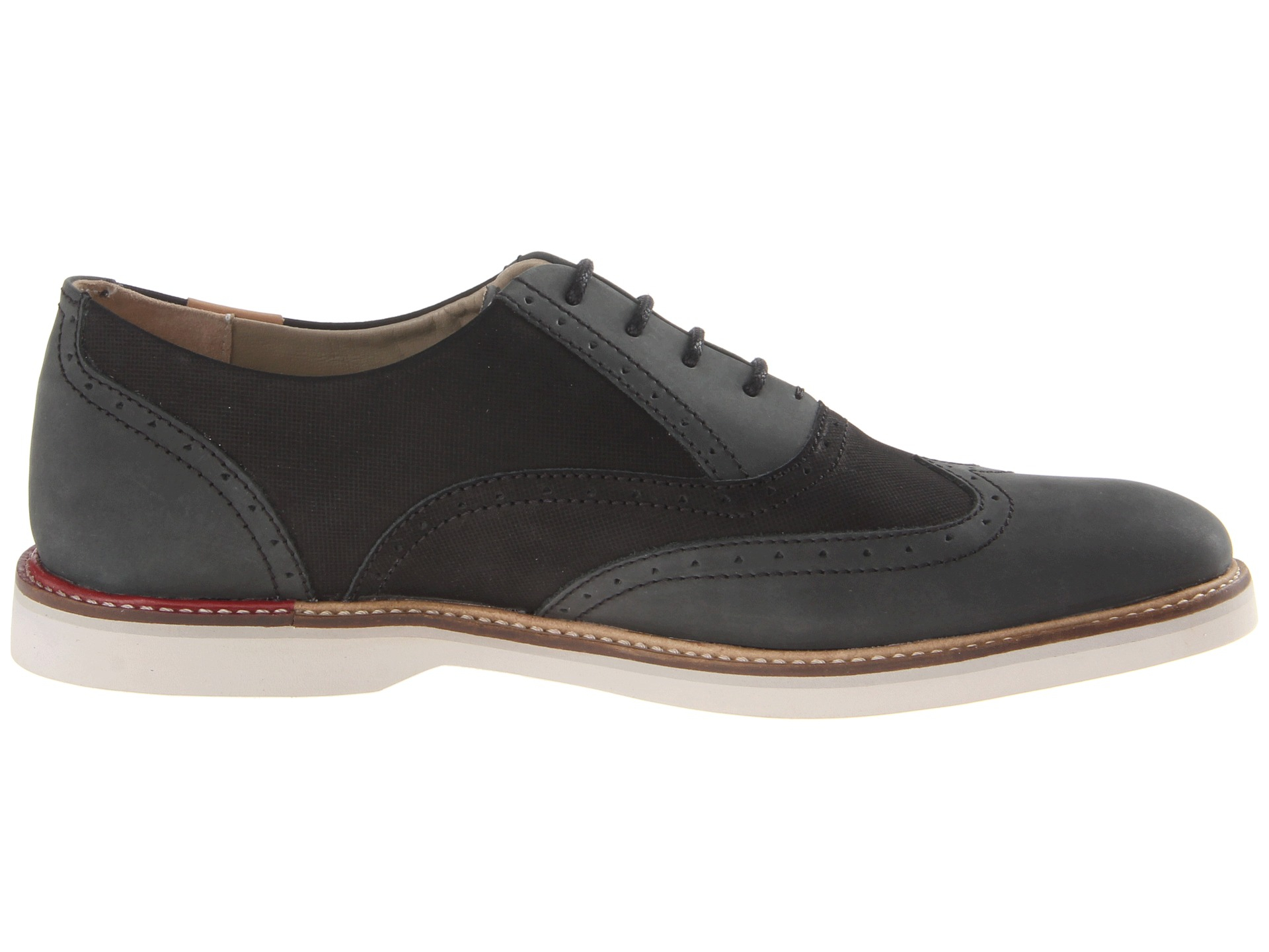 5fe757649a Black For Men 2 Lacoste Sherbrooke Brogue Lyst In HcWf7XqHp