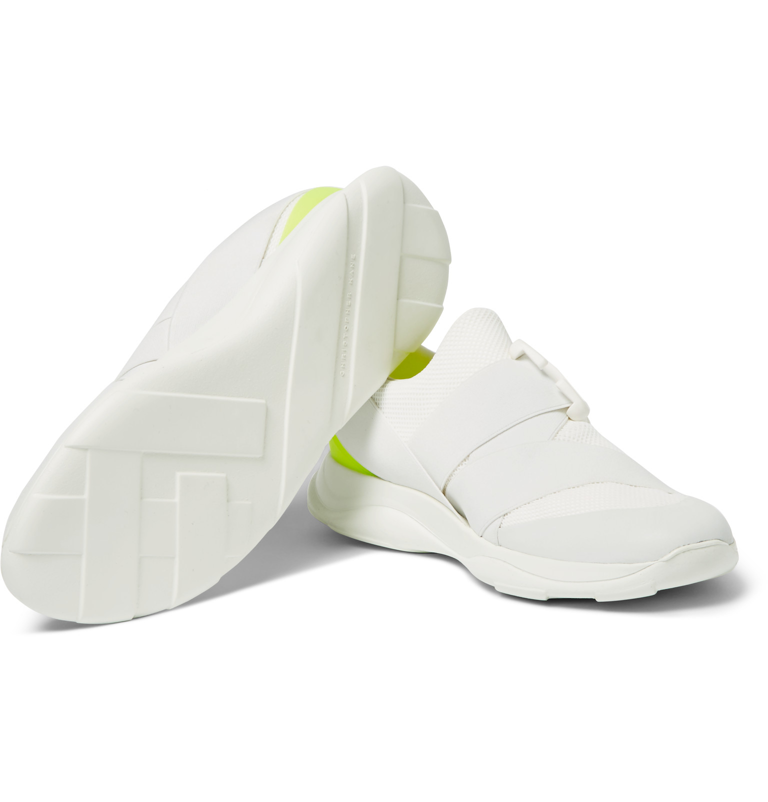 clearance low shipping Christopher Kane Canvas Low-Top Sneakers cheap price cost sale fashionable uBYW8rmP