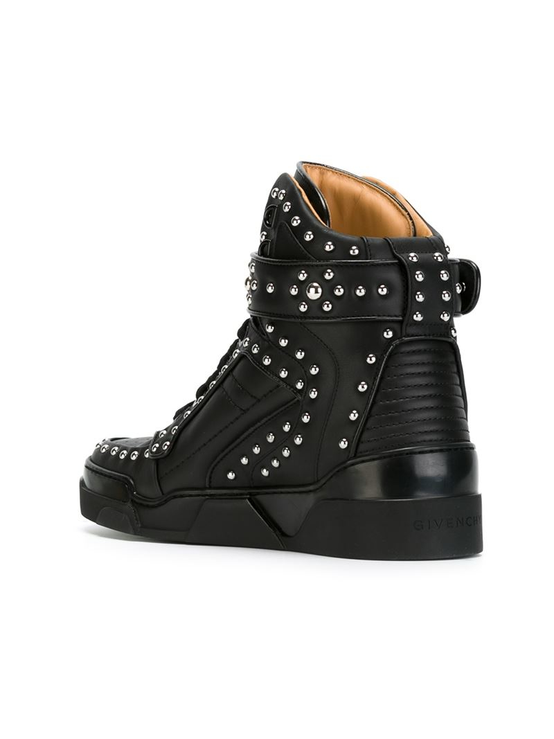 Lyst Givenchy Tyson Hi Top Sneakers In Black For Men
