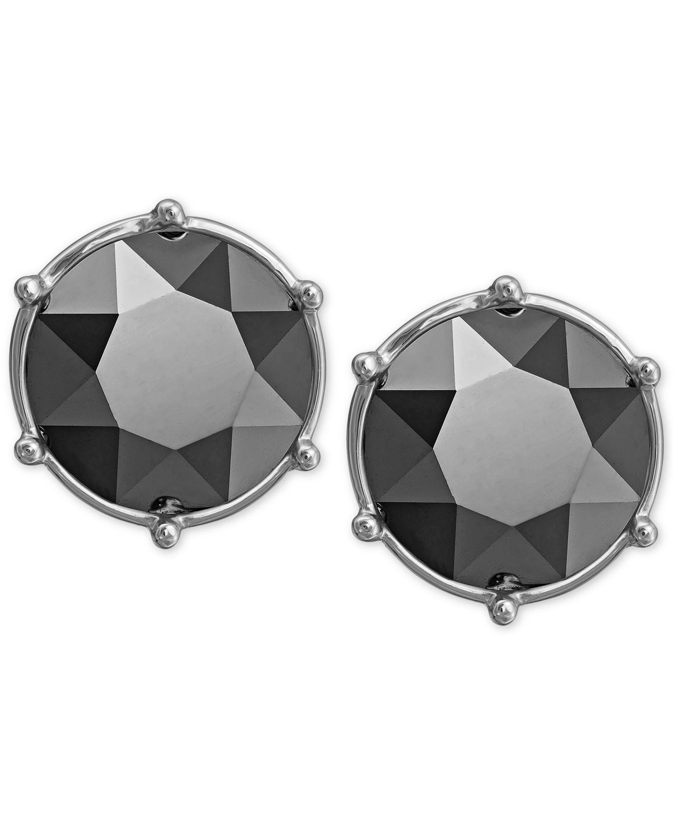 7f7f13f789bb2 Black Swarovski Stud Earrings - The Best Produck Of Earring