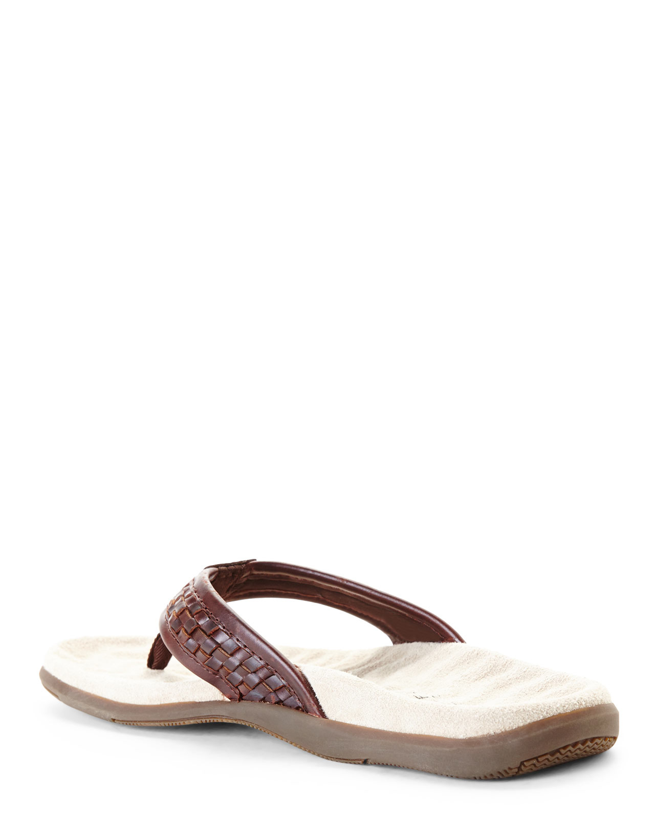 4c35e25a5186 Lyst - Sperry Top-Sider Brown Largo Flip Flops in Brown for Men
