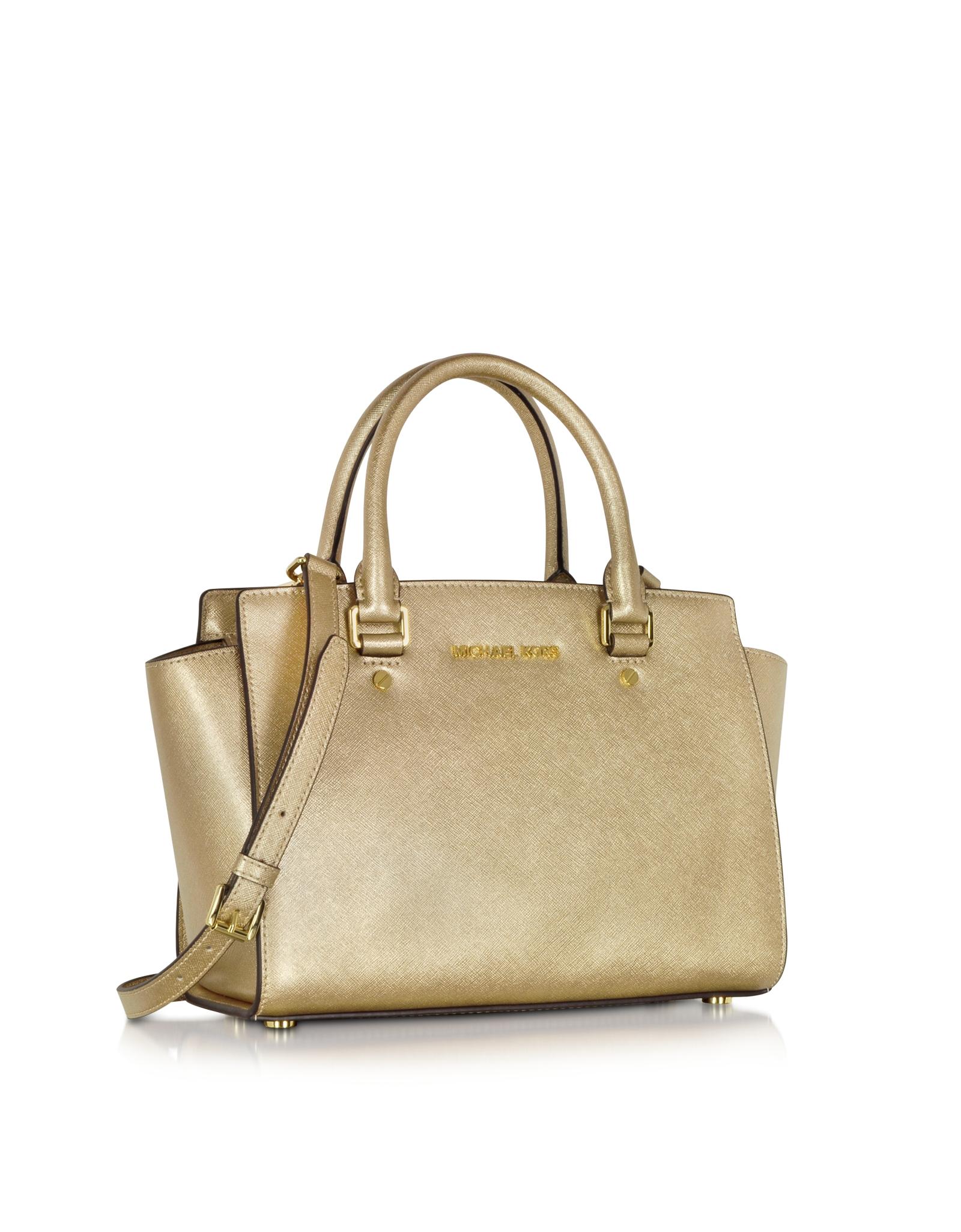 lyst michael kors selma saffiano leather medium satchel bag in rh lyst com