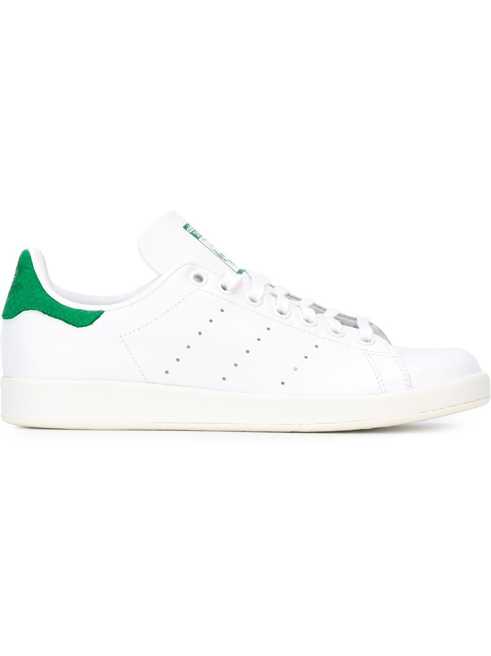 adidas 39 stan smith 39 sneakers in white lyst. Black Bedroom Furniture Sets. Home Design Ideas