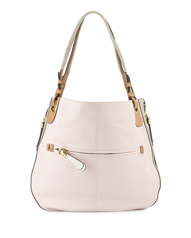 fdab0db235 Oryany Joyce Colorblock Hobo Bag in Pink