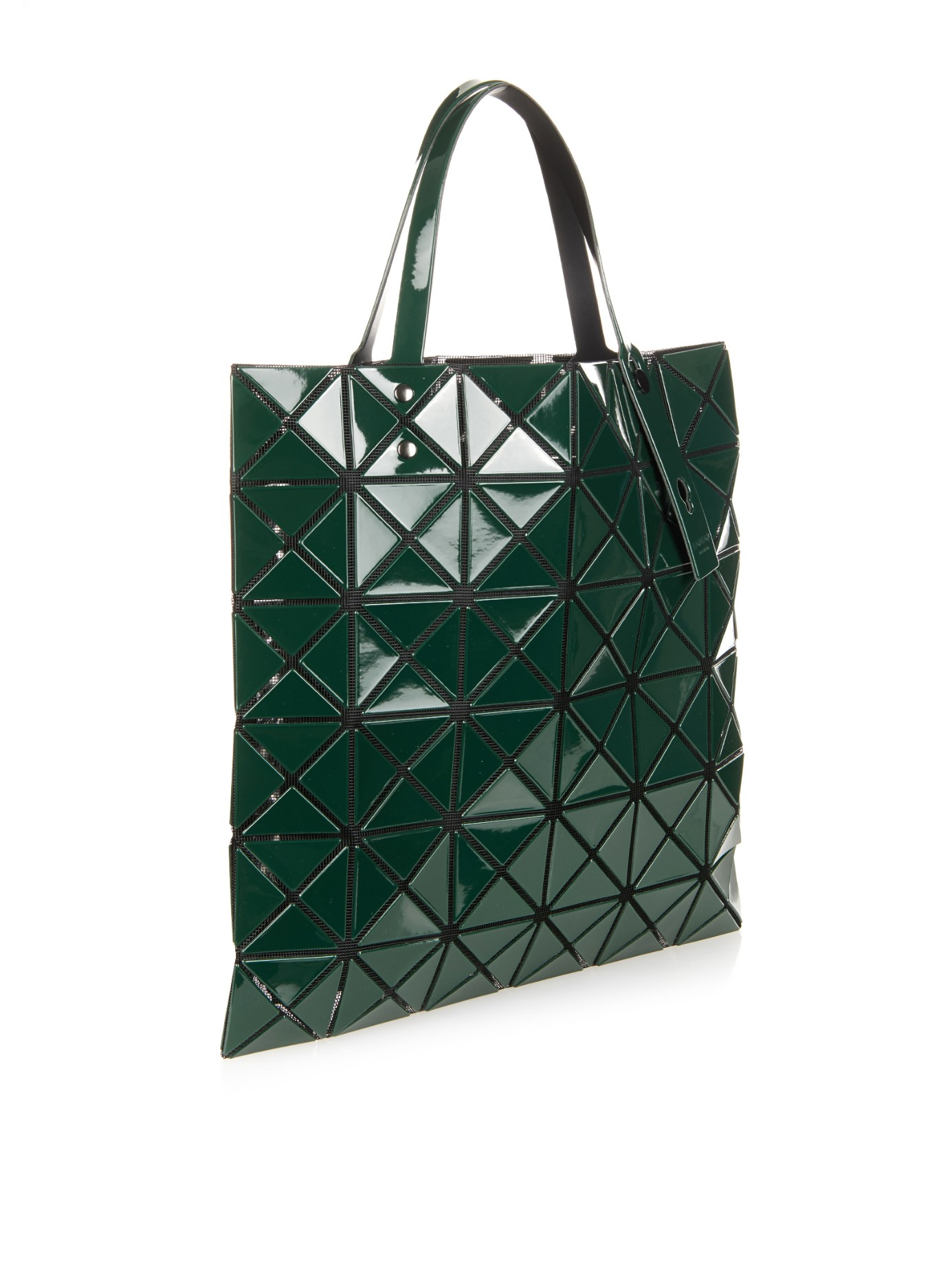 Bao Bao Issey Miyake Lucent Basic Tote In Green Lyst