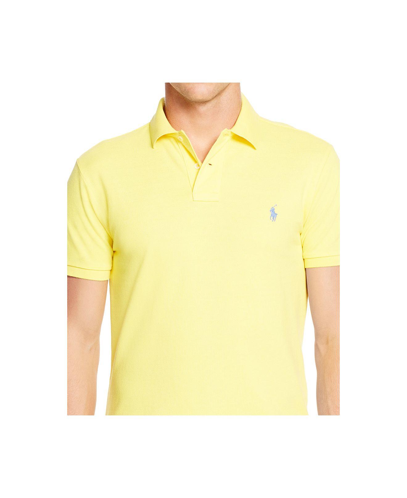 Polo Ralph Lauren Men 39 S Classic Fit Mesh Polo Shirt In