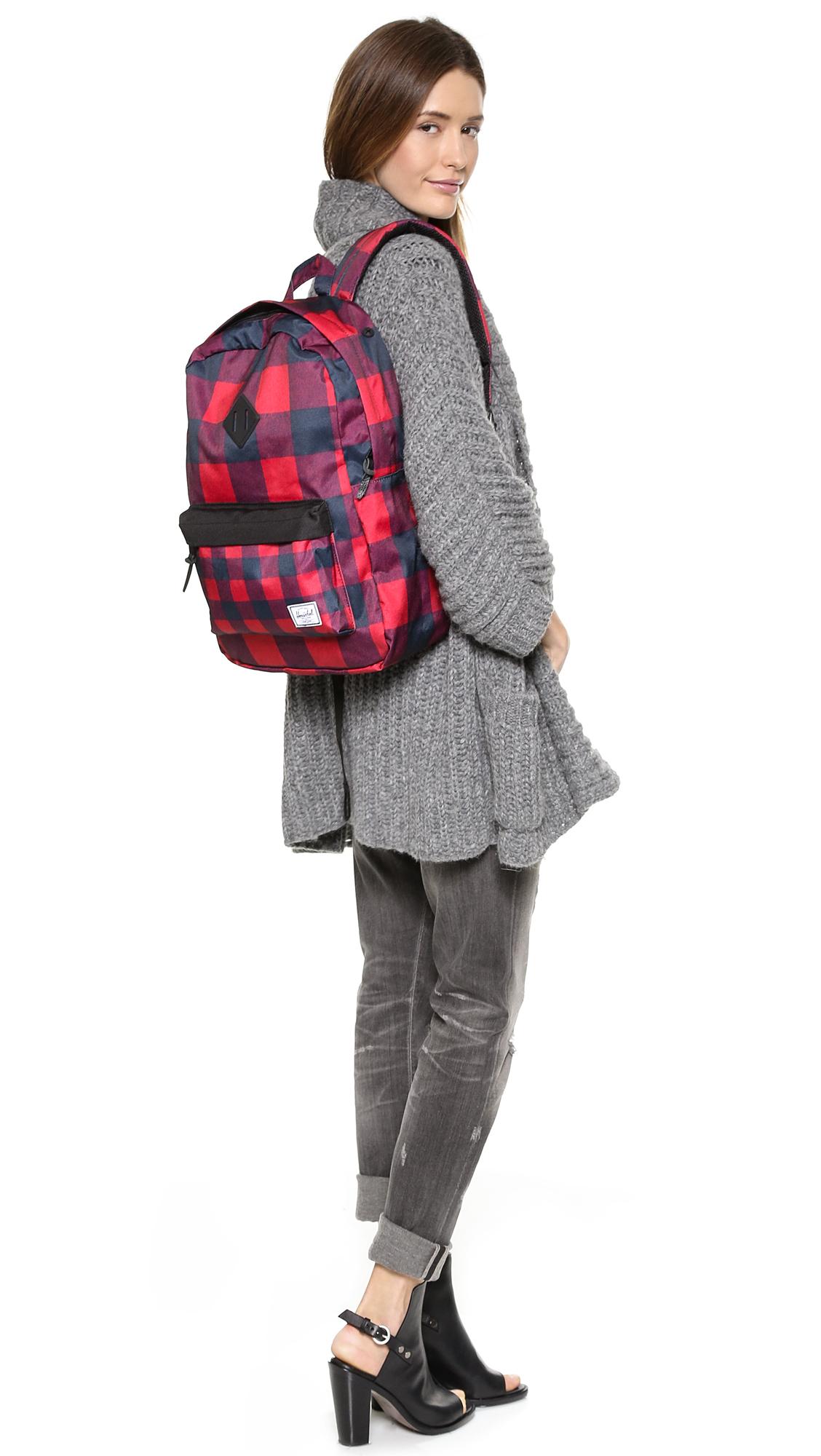 Gallery. Previously sold at  Shopbop · Women s Herschel Heritage Women s  Velvet Backpacks ... 0d2a0b0673962