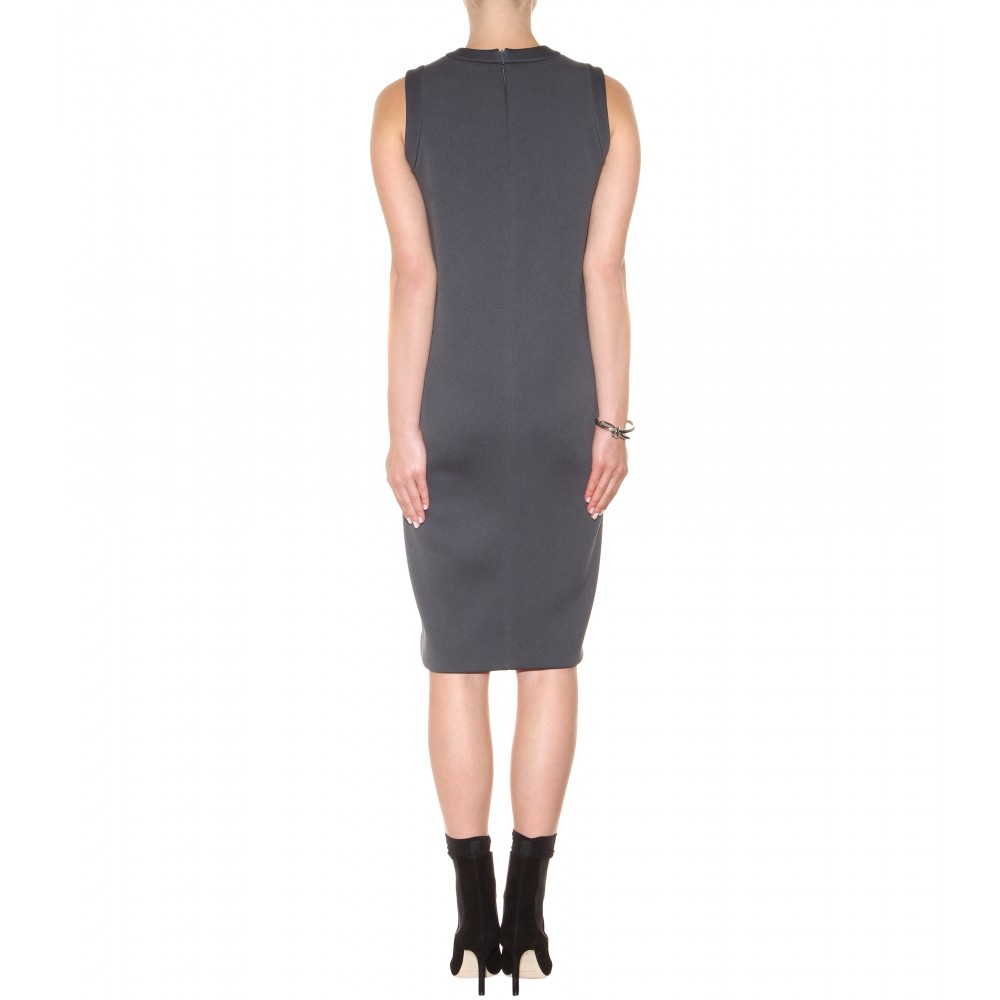 Woven neoprene dress Balenciaga Cheap Sale Deals Supply Cheap Online 5iBd8To0