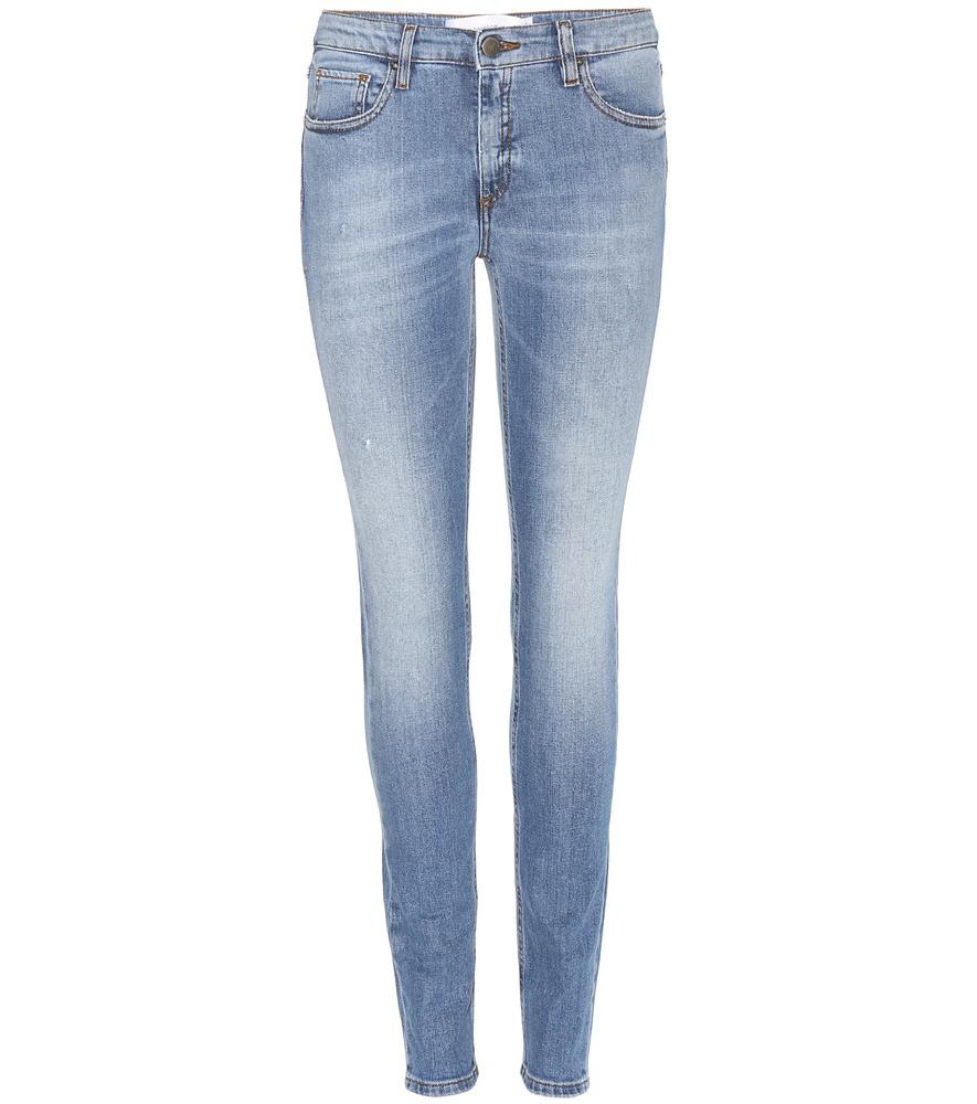 victoria beckham superskinny jeans in blue lyst. Black Bedroom Furniture Sets. Home Design Ideas