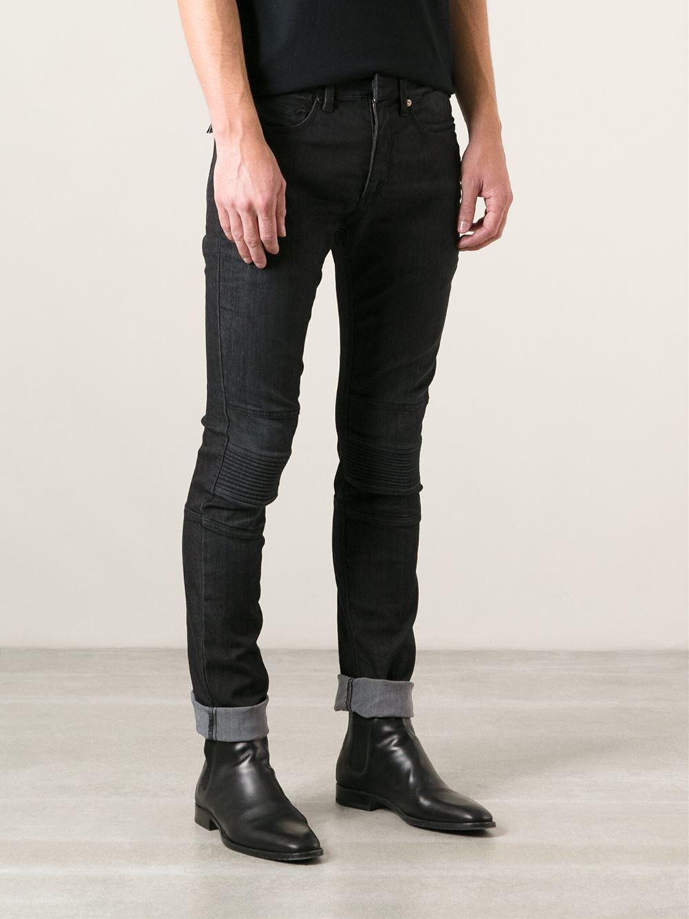 2019 best sell discount price provide plenty of Neil Barrett Padded Knee Skinny Jeans in Black for Men - Lyst