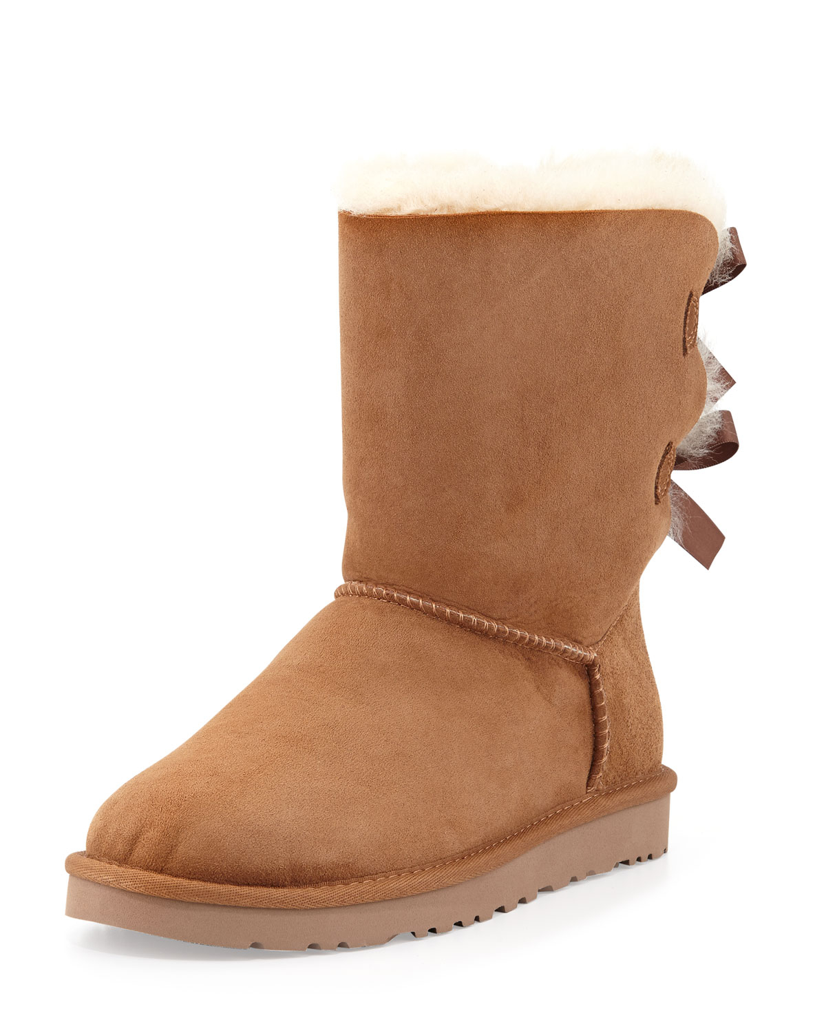 ugg australia bailey bow back boot in brown