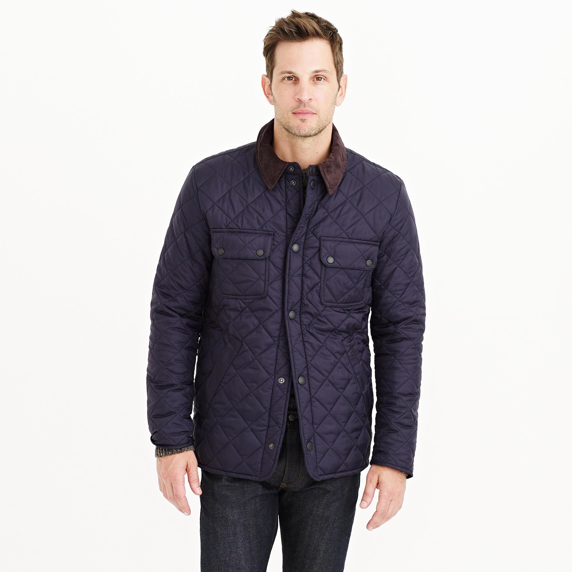 Barbour Tinford Jacket In Blue For Men Lyst