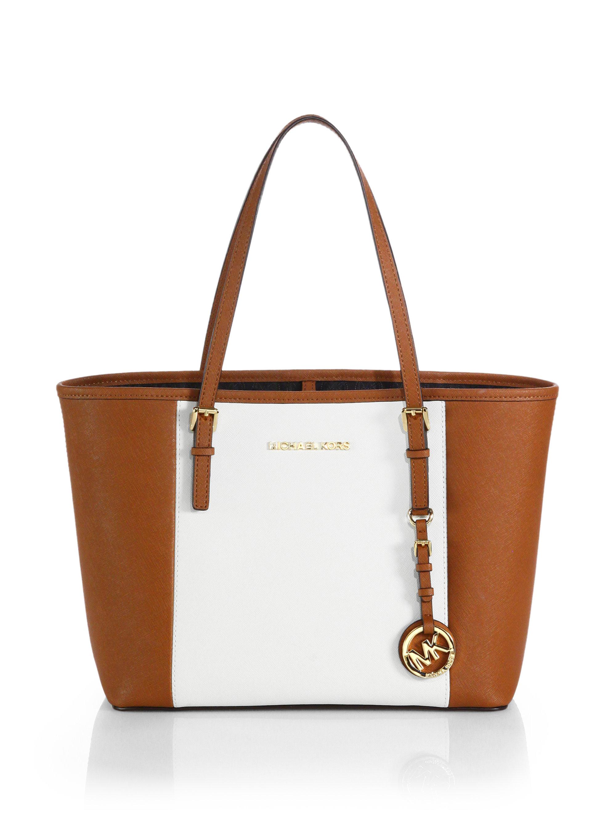 9b02bb5c41ff ... switzerland michael kors white and brown purse best image ccdbb e3d72  0b426
