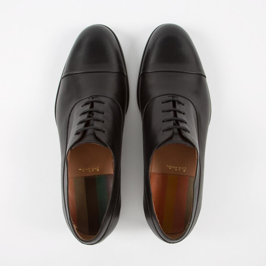 Black Cushioned Mens Shoes