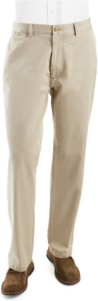Polo Ralph Lauren Classic Fit Pleated Chino Pants in Beige for Men (Hudson Tan) - Lyst