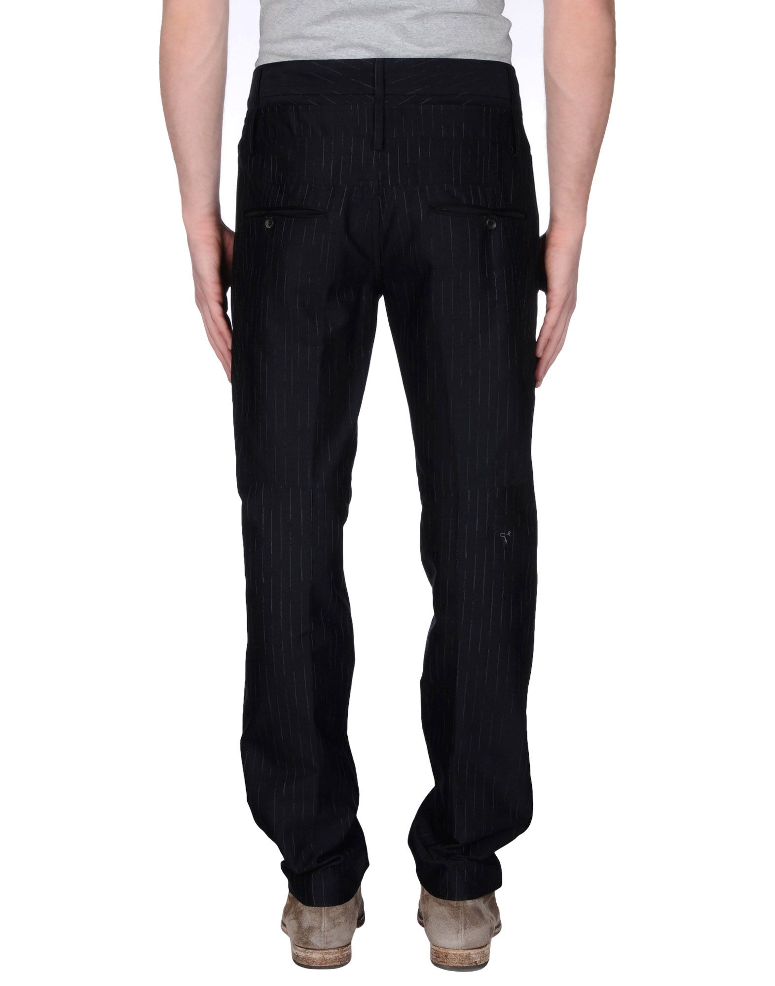 marith et fran ois girbaud casual trouser in black for men lyst. Black Bedroom Furniture Sets. Home Design Ideas