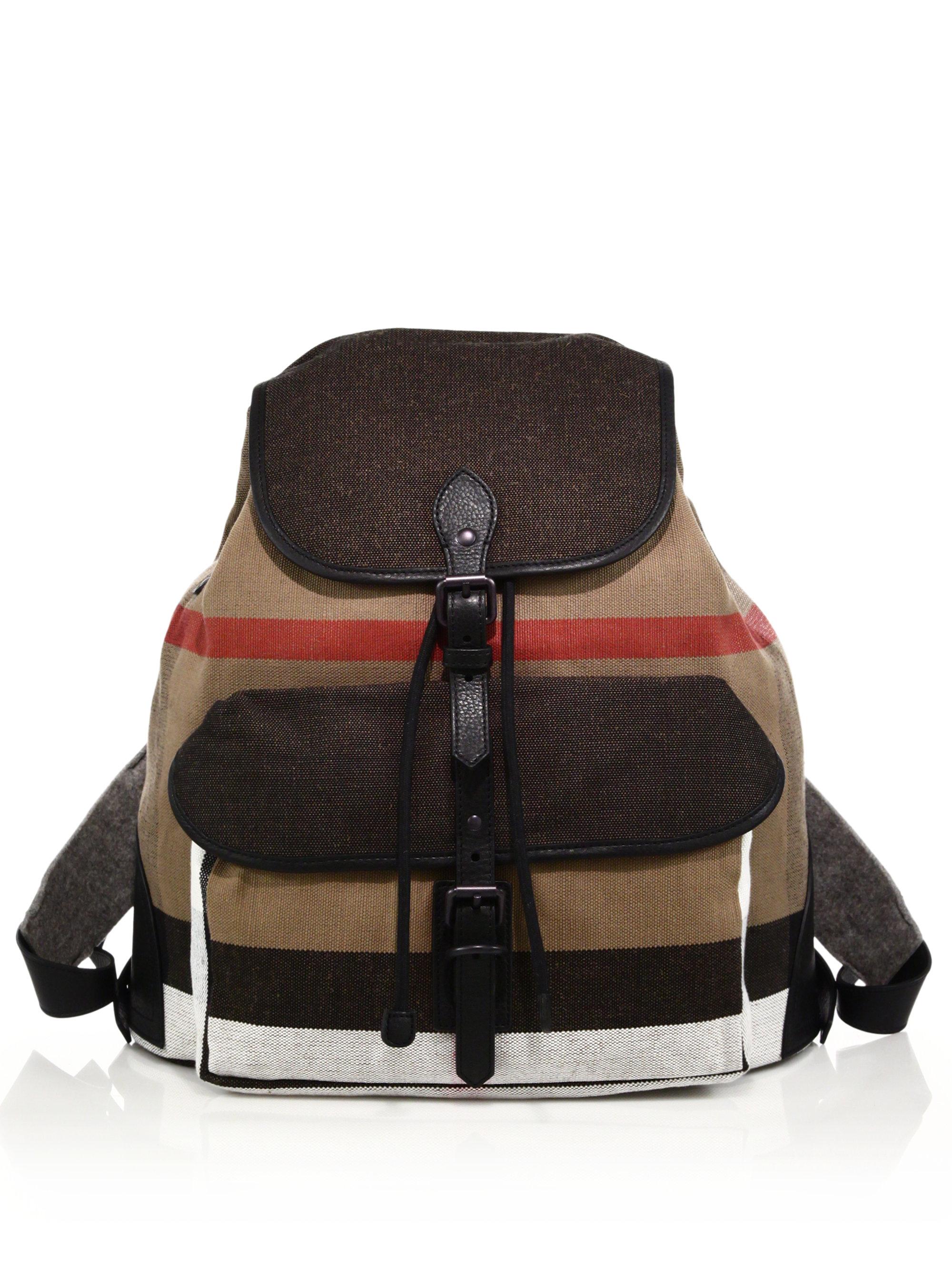 Burberry Korbin Backpack For Men Lyst