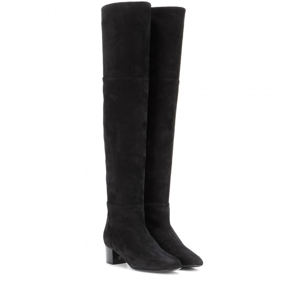Tom Ford Suede over-the-knee boots with mastercard online clearance outlet wiki for sale Manchester sale online cheap professional GhsKJl8O