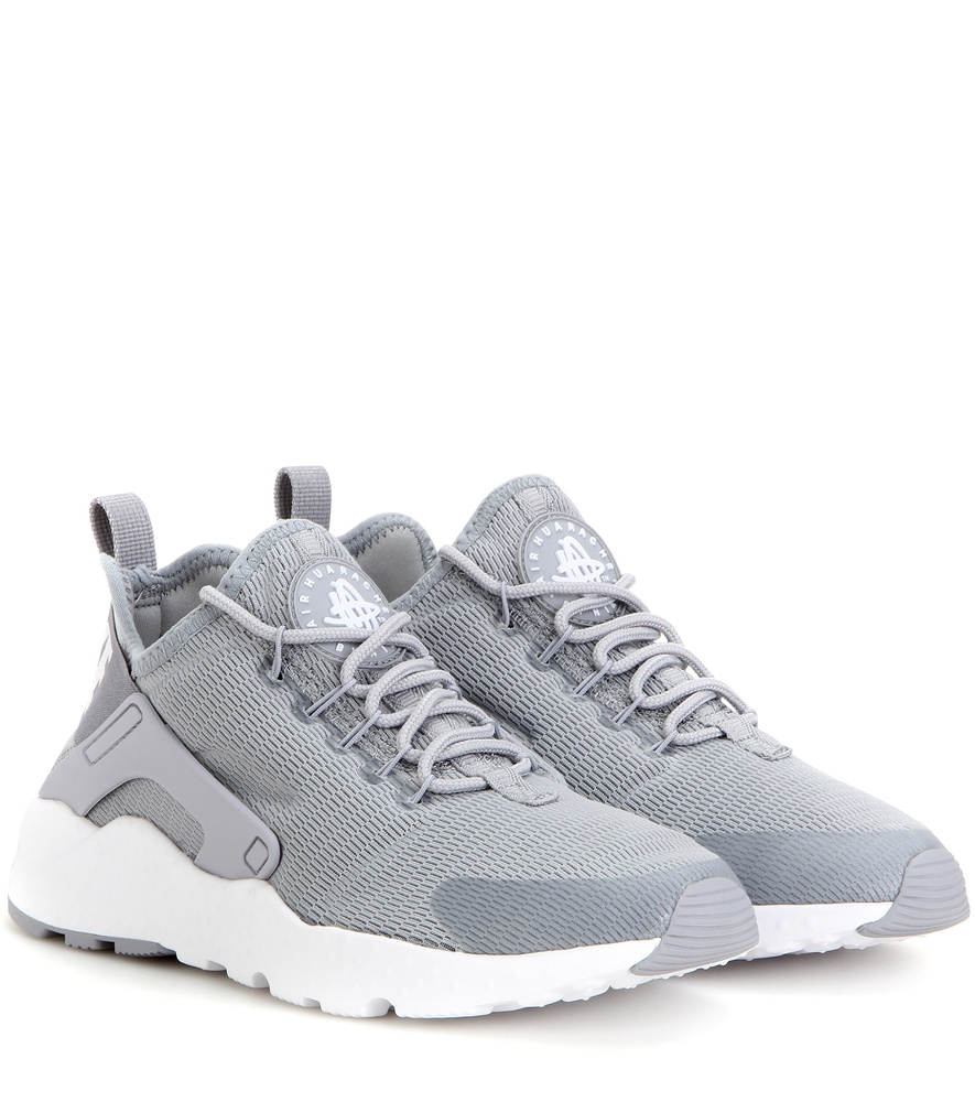 mens nike huarache ultra grey pink