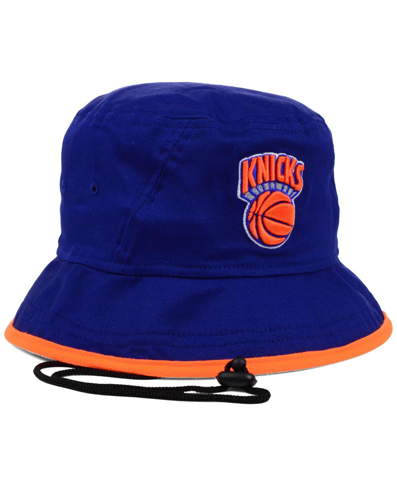 79571ca12331d ... sweden lyst ktz new york knicks hardwood classics tipped bucket hat in  20181 d83d0
