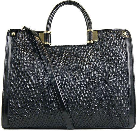 Ivanka Trump Leather Shoulder Bag 91