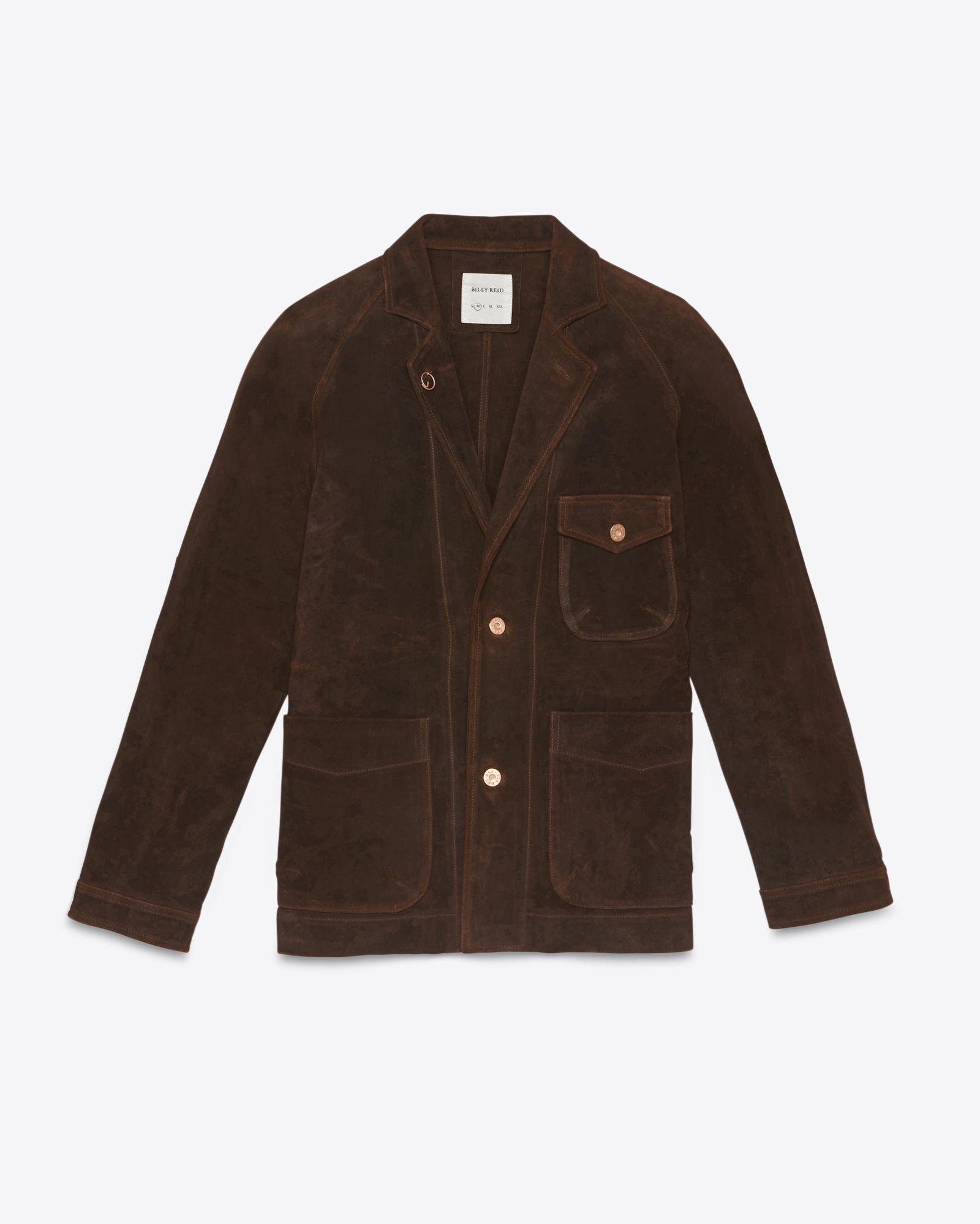 Billy Reid | Brown Harrison Jacket for Men | Lyst