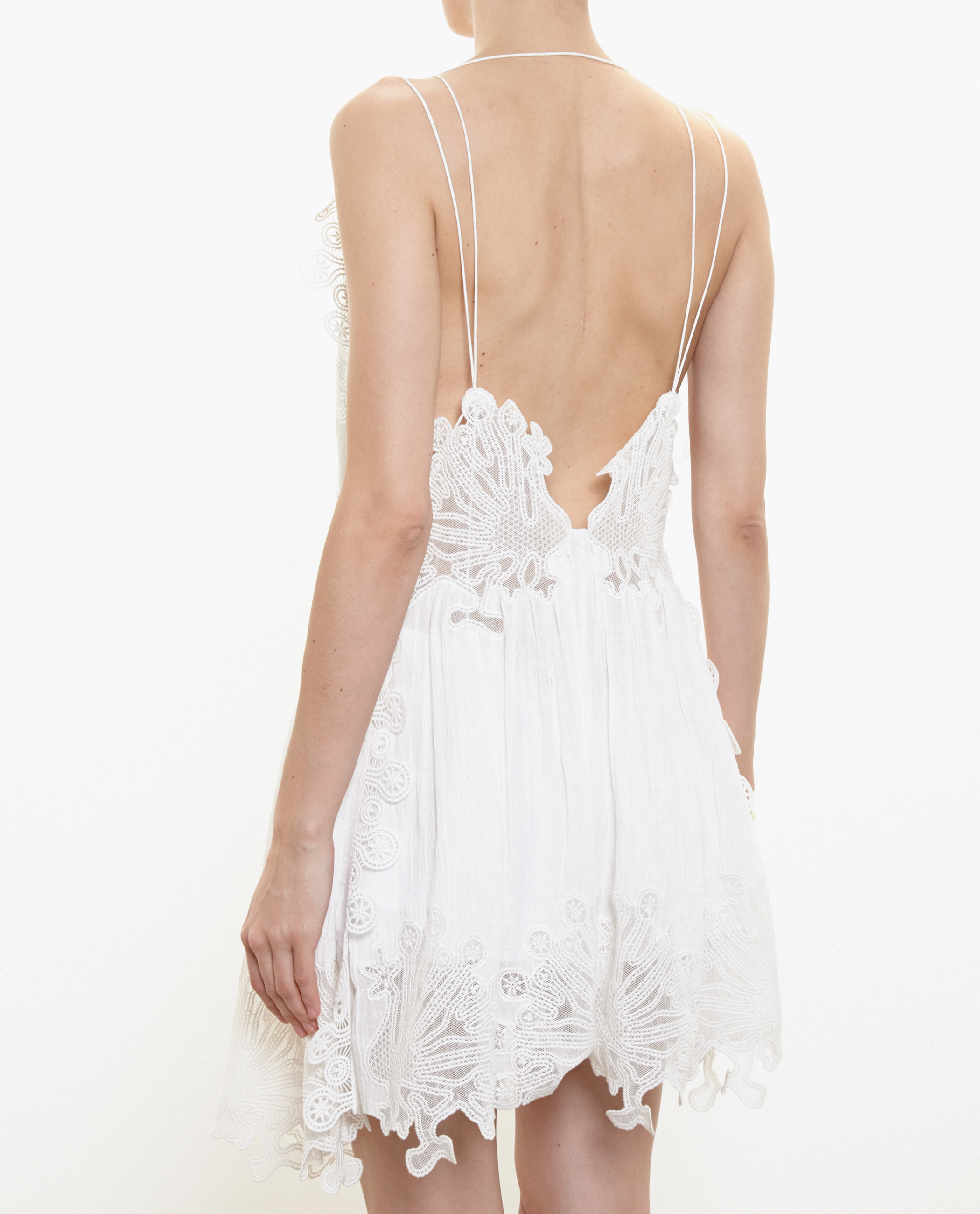 7cf96e1b4d3 Chloe Linen Midi Dress