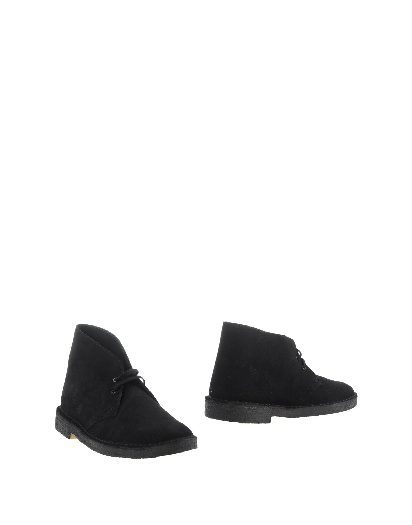 clarks ankle boots in black for lyst