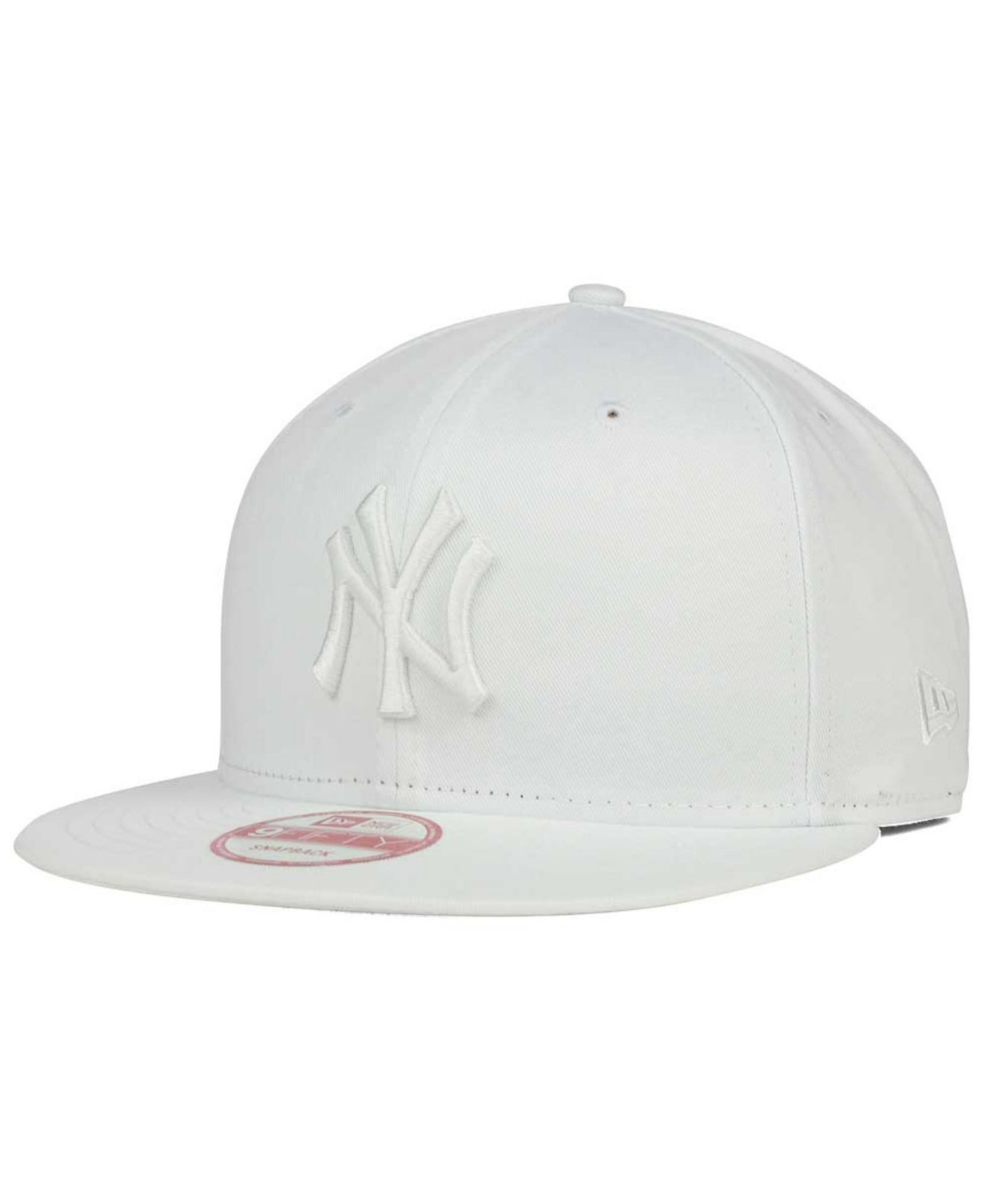 Lyst - KTZ New York Yankees White On White 9fifty Snapback Cap in ... f0a185ce834