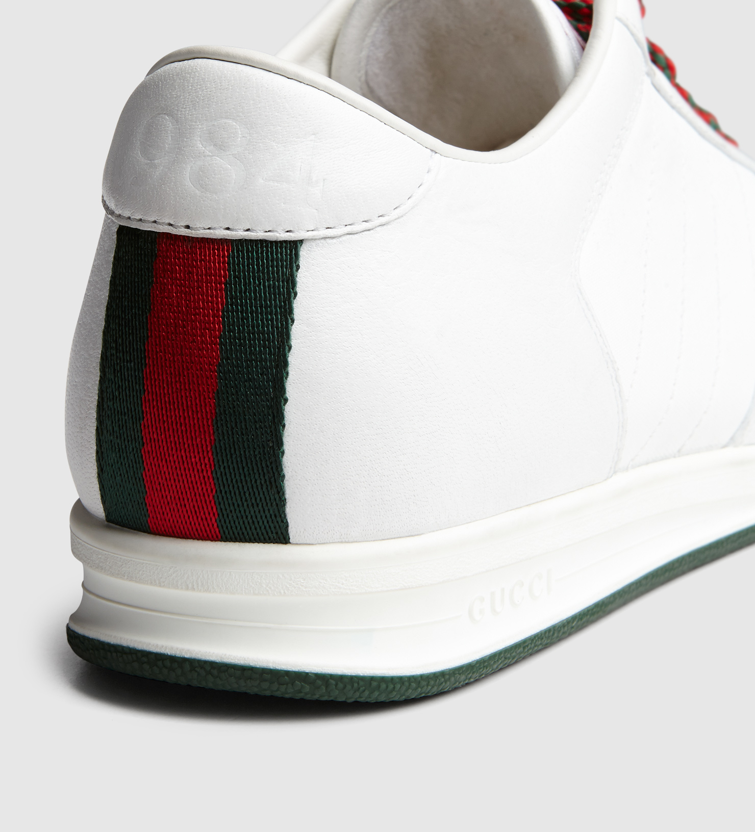 Lyst Gucci 1984 Low Top Sneaker In Leather In White